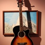 Guitar on Wall...