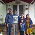 Raju and Aunty ( The caretaker )
