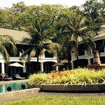 Pool area at Shinta Mani Resort