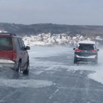 Getting passed on the Ice Road