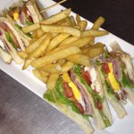 Triple club sandwich, great value