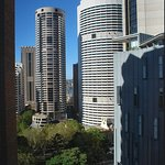 View from room looking towards Circular Quay