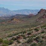 View from top of Treasure Loop Trail