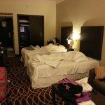 Room 135, smelt very bad of cigarette smoke or something else