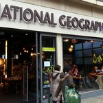 Nat Geo shop in Knightsbridge