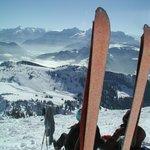 Skitourengeher Hörterer Hammerwirt