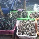 Морепродукты на выбор