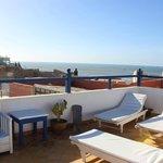 terrace sunchairs