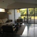 Living room at Spa Pool Villa