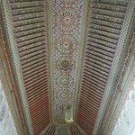 Plafond d'une salle du palais