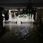 Flooded Pool !!