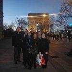 Toute l'équipe en séminaire à Paris