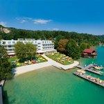 Werzer's Seehotel Wallerwirt Luftansicht