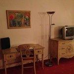 Wohnbereich mit altem TV