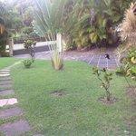 giardino entrata camera