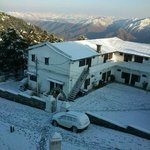 Snow fall in himalayan club