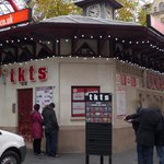 tkts booth at Leicester Square