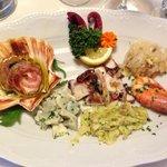 Grand'antipasto di pesce alla veneziana