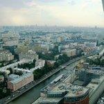 Вид на Москву с 34 этажа