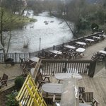 the decking, for better weather