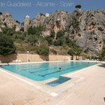 El Castell de Guadalest - Piscina municipal - public pool