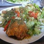 saumon sesame sauce thai et ses legumes EN CONSERVES