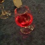 le liqueur à l'eau de rose!! (la découverte de la soirée)