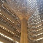 Gorgeous atrium/lobby area
