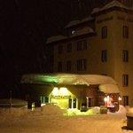 Das Restaurant Aifach im tiefsten Winter.