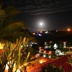 vista de noche..desde el Hotel
