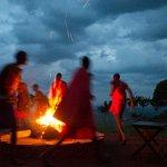 danse masai le soir