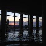 Вид из внутреннего бассейна