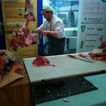Butchers of Distinction hosts the classes. This is their master Butcher Phillip