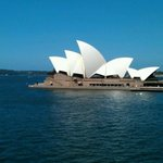 View of Opera House on a stunning Sydney day