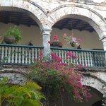 Jardins floridos do Convento