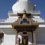 Magnificent white dome of Timphu's Memorial Chorten