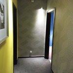 corridor at 4th floor
