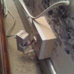 broken wires