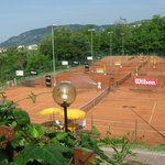 A paradise for tennis players