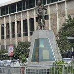 Памятник руководителю восстания.