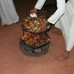 Zarb - Bedouin dish cooked under the ground