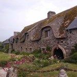 vieux toit de chaume