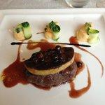 Belle présentation mais déçut par le foie gras