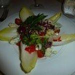 endive salad w/goat cheese