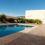 Nice quiet pool area