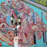 Street art on Prince Arthur