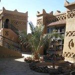 Courtyard of the Riad Nezha
