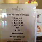 Le tariffe per accedere ad internet