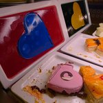 Dessertbuffet am Valentinstag