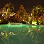 Hotel Pool by Night